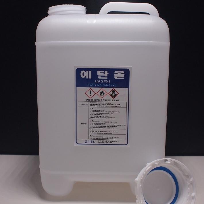 한국알콜 식물성 에탄올 95% 알콜, 1개, 5L