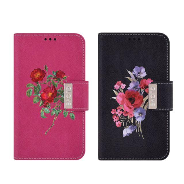DiaryGalaxyCase피혁Point꽃 택1 갤럭시 다섯장미 포인꽃 빨간장미 장미보라 큰장미 흰장미
