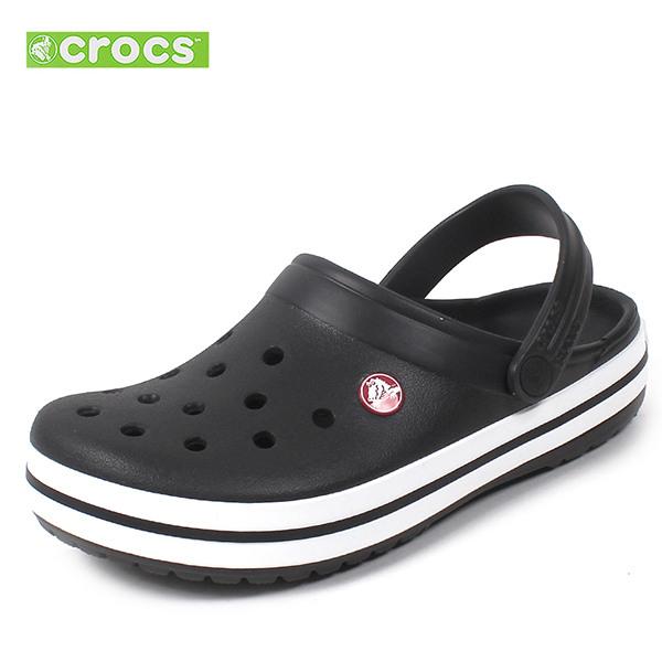 [크록스] 크록밴드 클로그 샌들 슬리퍼 남자 여자 11016-001 블랙 남여공용 신발