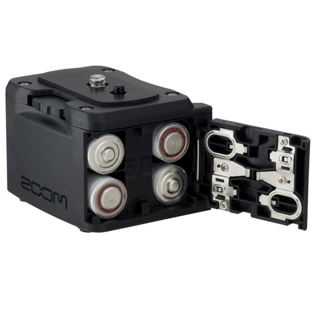 ZOOM Q2n 4k HD 핸드헬드 비디오레코더 올인원캠코더 VLOG 광각, 기타 검정색 BCQ-2N 배터리 상자
