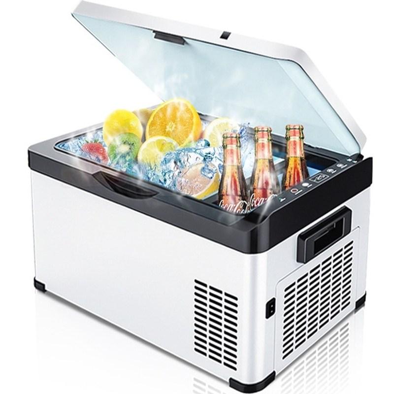 캠핑냉장고 차량용 이동식 감성 휴대용 화장품 냉장고 휴대용 20 26 AC 야외, 30 리터, CN