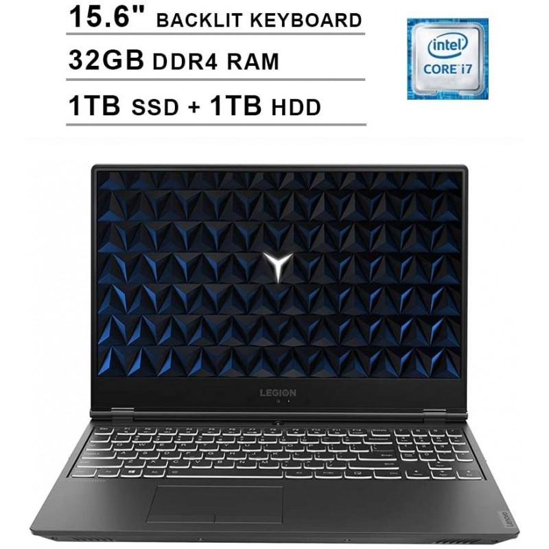 2020 Lenovo Legion Y540 15.6 인치 FHD 1080P 게임 노트북 (최대 4.5GHz의 Intel 6-Core i7-9750H NVIDIA GeForce GTX 1650, 1, 단일옵션, 단일옵션