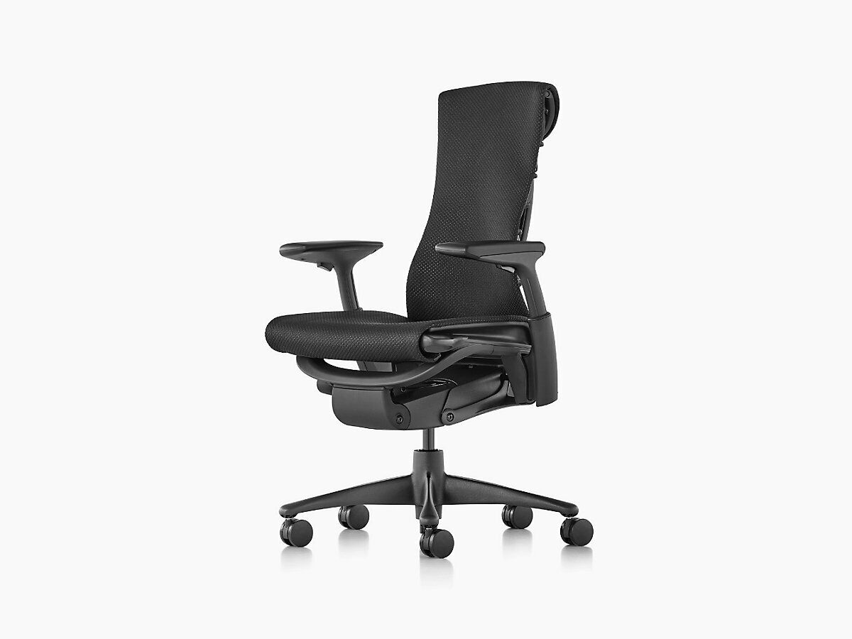 Herman Miller Embody Office chair Brand New Rythym Fabric All Color Options, Molasses