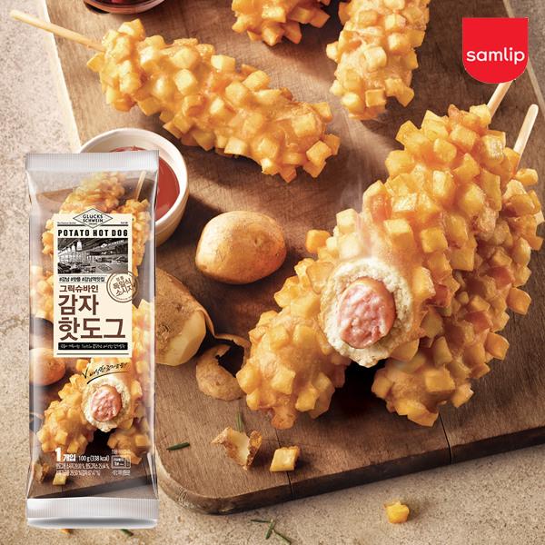 [삼립] 냉동 그릭슈바인 감자핫도그 19입, 선택:냉동 그릭슈바인 감자핫도그 20입
