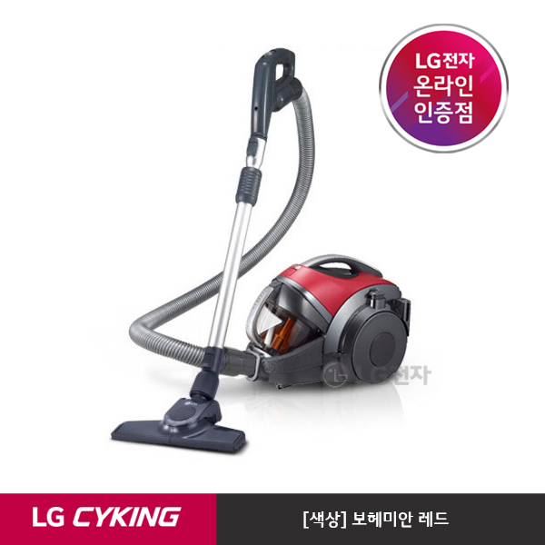 LG전자 슈퍼 싸이킹Ⅲ 청소기 K83RG [3주이상 배송지연], 기타