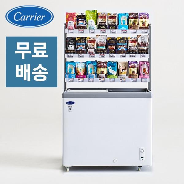 예약판매 캐리어 CSDHD201WA 냉동쇼케이스 아이스크림 다목적, CSDHD201WA단품(냉동고만) (POP 5587585862)