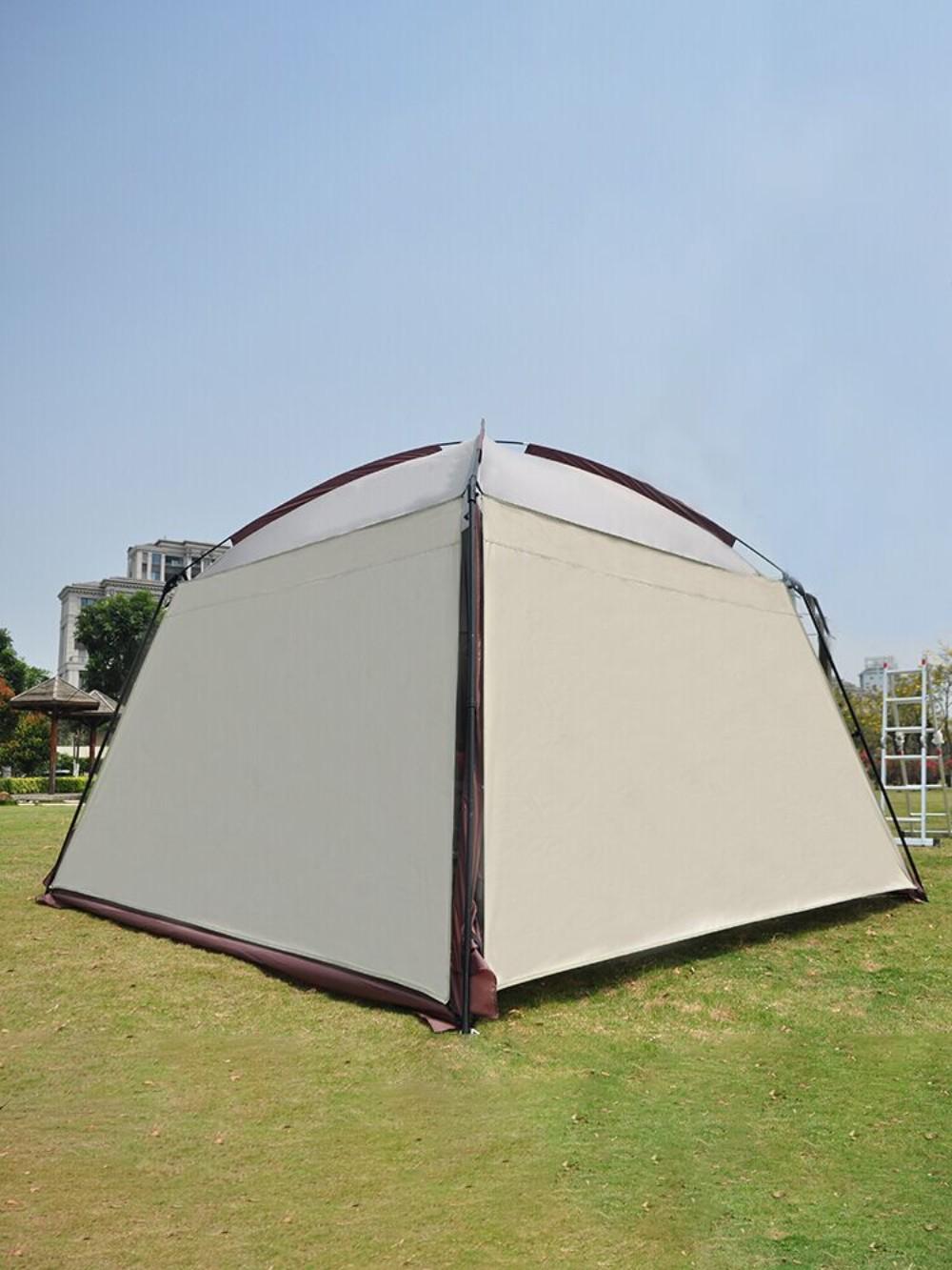 바퀴달린집 모기장 텐트 타프 돔 쉘터 여름 시원한 그물 텐트, 타프 1장