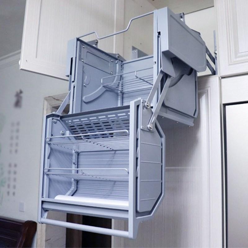 댐핑 더블바디 스토리지 냉장고 상단 캐비닛 리프팅 바구니, 개, 900 리터