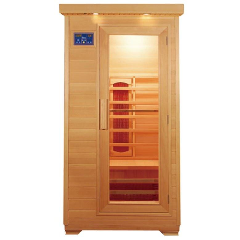 리치하우징 1인용 2인용 건식 찜질방 개인 사우나 반신욕기 가정용 좌훈 전신사우나 이동식 원적외선 90, 오렌지