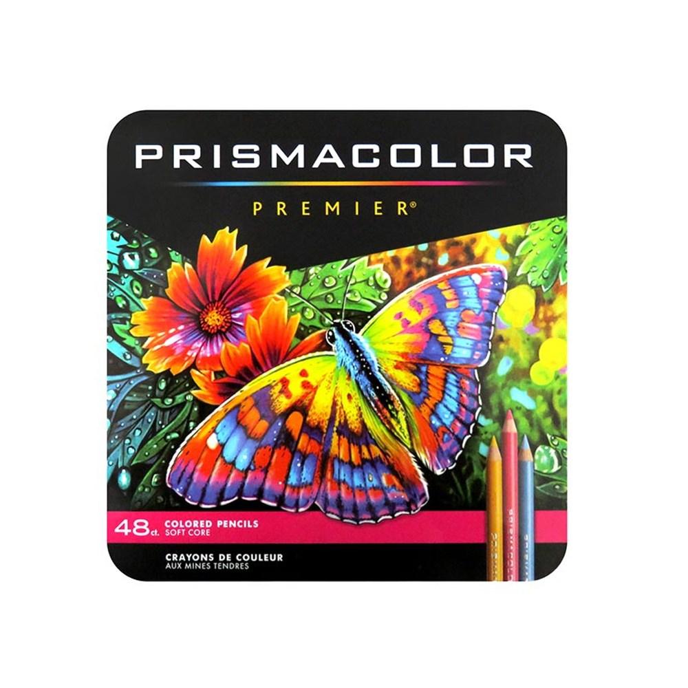 프리즈마 유성색연필 12색 24색 36색 48색 72색 132색 150색