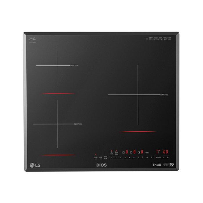 LG전자 (빌트인) 3구 인덕션 전기레인지 BEI3GST