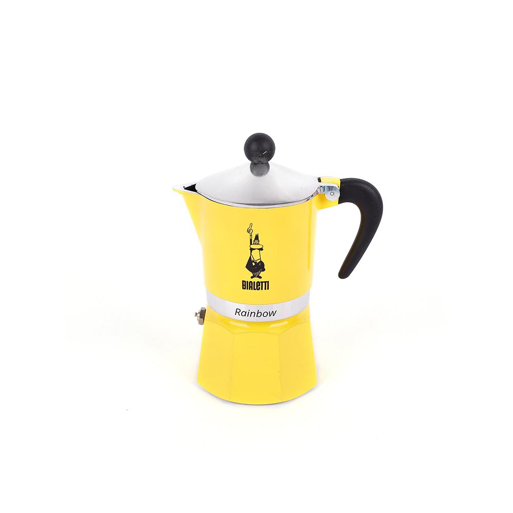 비알레띠 모카포트 에스프레소 추출, 1개, 지알라(노랑) 1컵+사은품(국내배송)