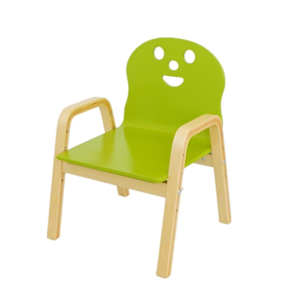 원목 유치원 어린이집 의자 독서 4단 높낮이조절 등받이 벤치 공부 모던 심플, 그린