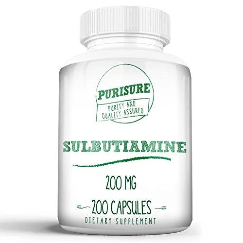 Purisure 퓨리슈어 설부티아민 Sulbutiamine 200mg 200개입