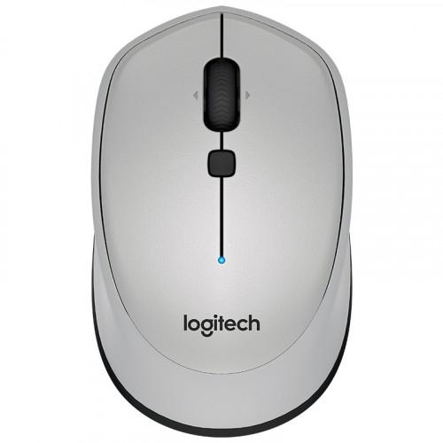 로지텍 M336 무선 블루투스 마우스 컴팩트 오피스 비즈니스 맥북 노트북 맥 애플, 본문참고, 선택 = M336 회색 공식 표준