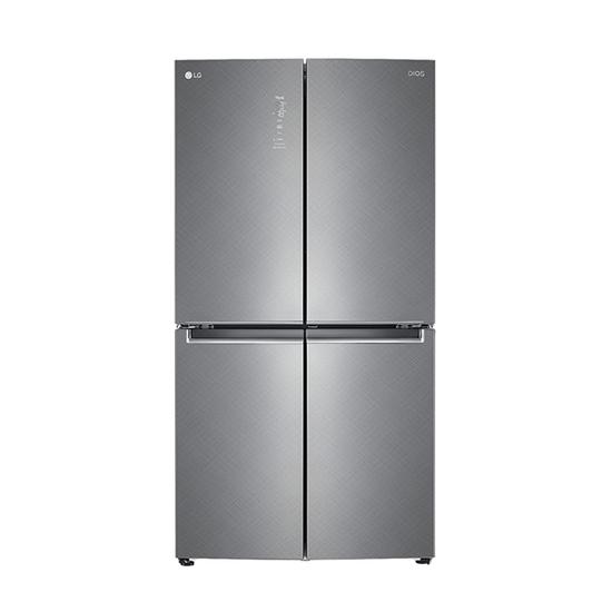 [K쇼핑]LG 디오스 4도어 870L 냉장고 F873SN35E /전국물류설치