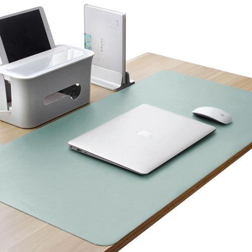 캘리웨이브 와이드 가죽 대형 데스크 매트 프리미엄 논슬립 책상 테이블 패드  라이크그린캘리웨이브 와이드 가죽 대형 데스크 매트