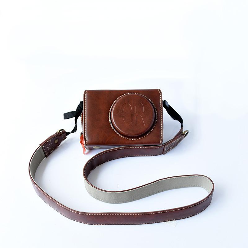 무료 배송 리코RICOH GR2 카메라 가방 GR3 가죽케이스 GRII GRIII 카메라 파우치, 상세내용참조