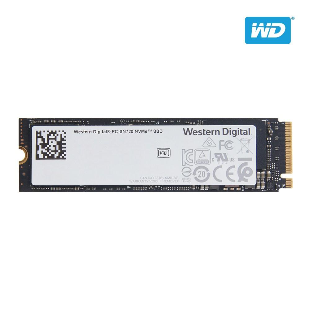 웨스턴디지털 SN720 NVMe M.2 SSD 2280 PM981동급, 512GB, WD SN720 NVMe M.2