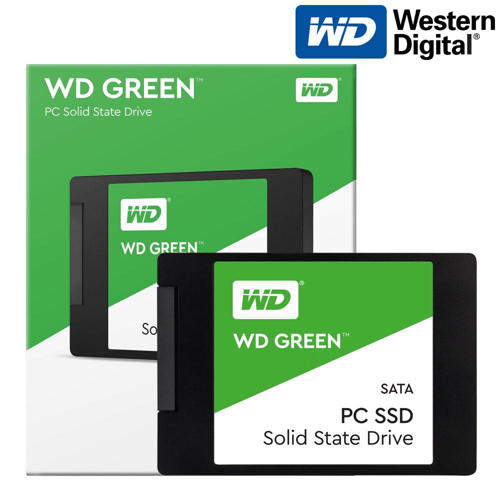 WD Green SSD 2.5인치, Green SSD + SATA3 케이블, 480GB