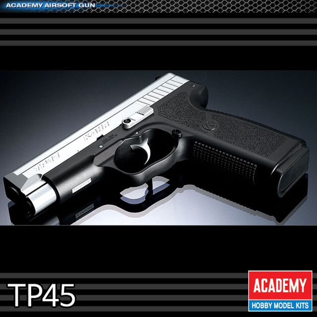IT51276 (아카데미) TP45 칼암즈 권총 비비탄총 가스건 저격총 비비탄총 에어소프트건 핸드건 전동건 비비탄전동건 샷건 권총 소총