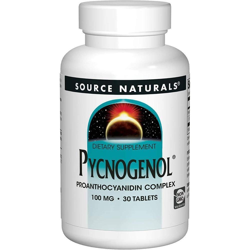 [직구 피크노제놀] Pycnogenol Complex Source Naturals Inc. 30 Tabs, 1set, 1set