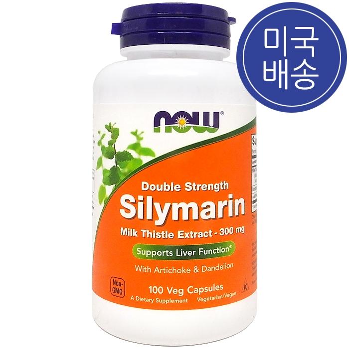 Now Foods 나우푸드 실리마린 밀크씨슬 300 mg 100정, 1병