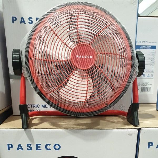 파세코 캠핑용 무선 선풍기 레드 PMF AB9100RB (POP 5156286191)