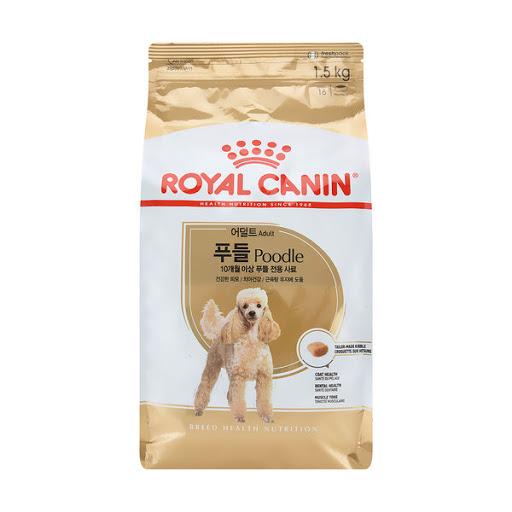 로얄캐닌 견종별 강아지 사료-사은품증정 (1.5kg 3kg 선택), 1.5kg, 독 푸들 어덜트-5-4834353740
