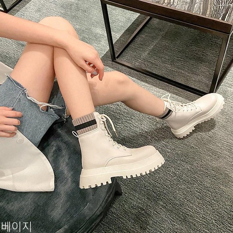 굿데이 컴퍼니 2020 여자 앵클 워커 부츠 발끝 멋스러움을 더한 모터 tMDX10