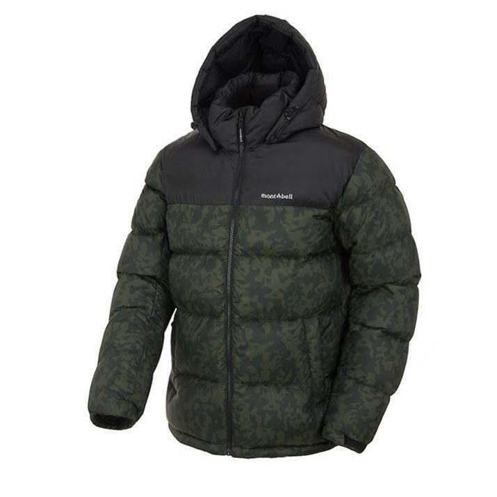 몽벨 NC불광점 87 아웃도어 정품 초특가 발수 기능 보온성 뛰어난 겨울 패딩 공용 베이커 중량 구스다운 자켓
