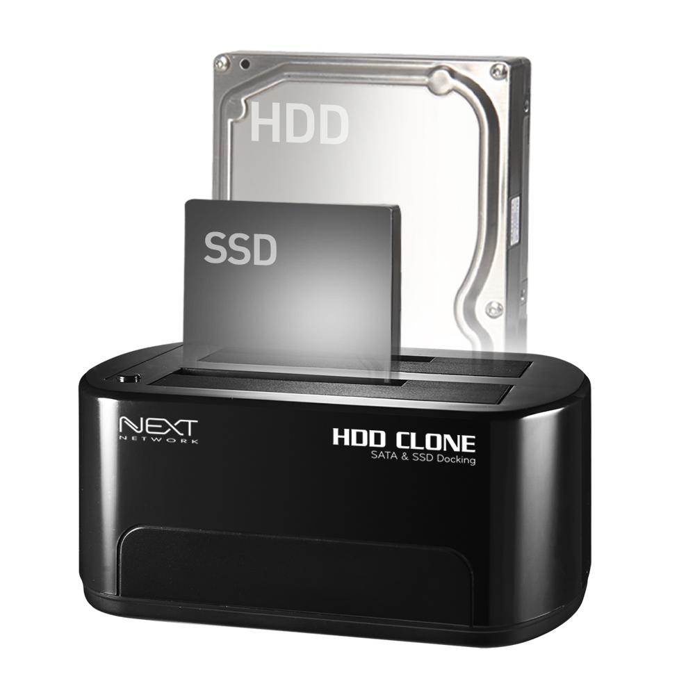 넥스트 USB 3.0 SSD HDD 외장하드 도킹스테이션 하드디스크도킹 SATA IDE 복제, 2.NEXT-652DCU3