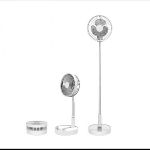 샤오미 에어메이트 선풍기 접이식 수납형 무선 usb충전 화이트, 단품