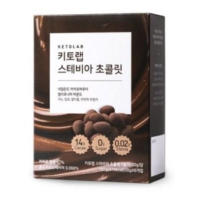 키토랩 무설탕 스테비아 초콜릿, 30g, 42개