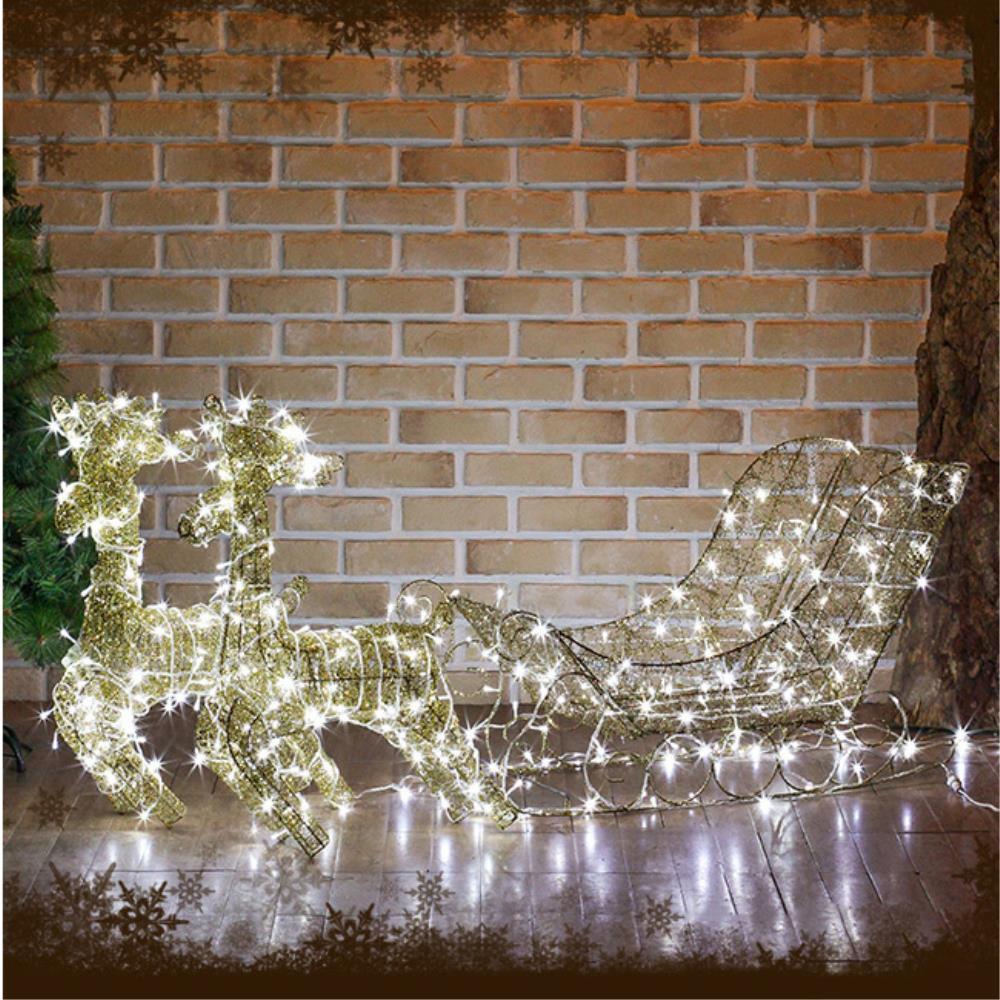 매장앞 크리스마스 포토존 LED 조형물 파티용 캠핑장