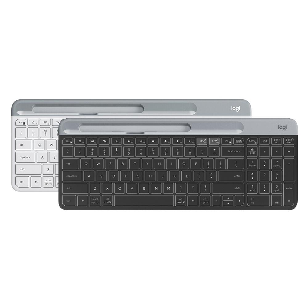 로지텍 Graphite 슬림 멀티 키보드, K580, 블랙