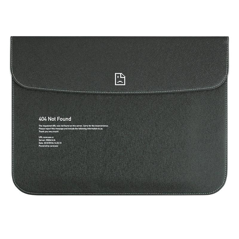 carecase 맥북프로 16인치 파우치 케이스, 블랙