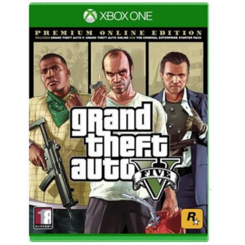 엑박 GTA 5 프리미엄 온라인 에디션 XBOX ONE 한글판