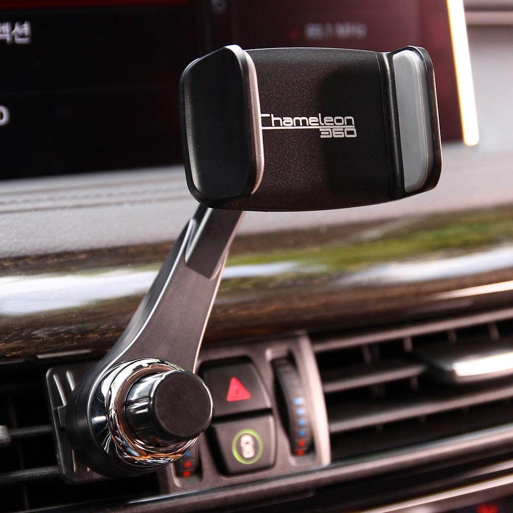 카멜레온360 송풍구형 차량용 핸드폰 휴대폰 거치대, 송풍구 A Type
