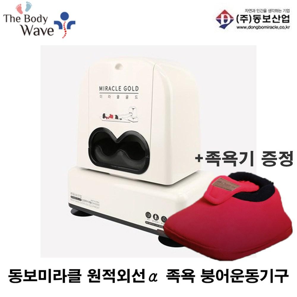 동보산업 온열 원적외선족욕 미라클골드 붕어운동기구, DH-5000