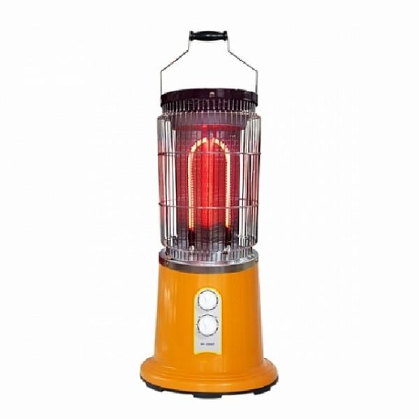 쇼핑은나의길 원통형 히터 근적외선 퀄츠루비 타이머형 HV-2006T 전기히터, 해당상품
