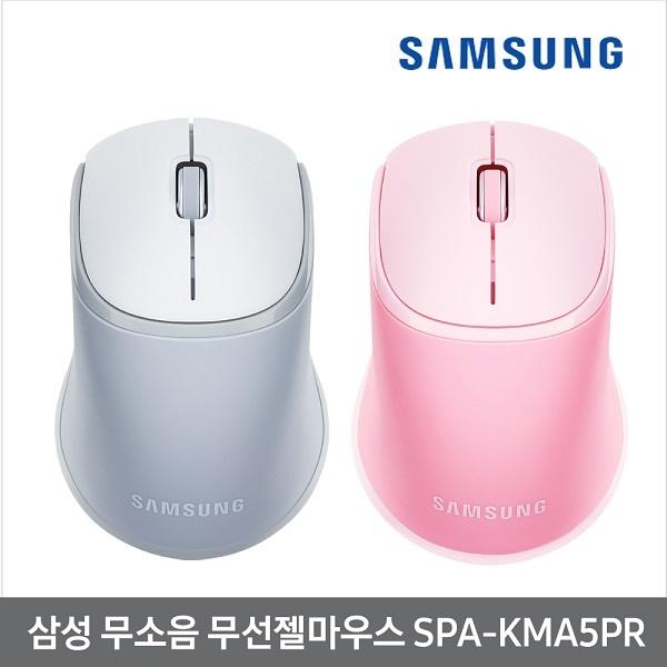 PKH843738삼성전자 무선 광마우스 SPAKMA5PR 젤쿠션 무소음 핑크 단일옵션
