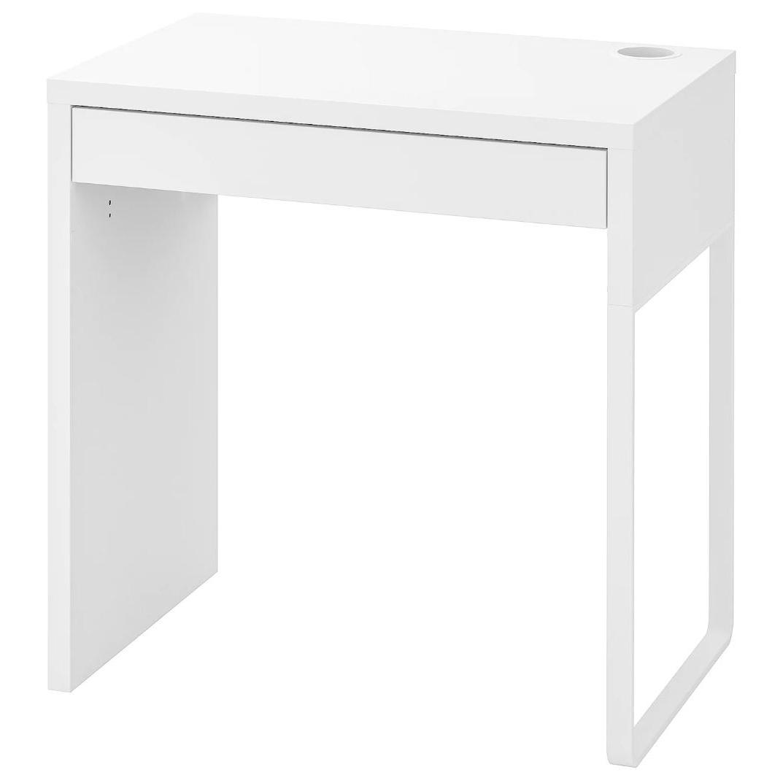 이케아 MICKE 미케 책상 화이트 73x50 cm, 조립외 제품 서비스 동영상 별도 제공