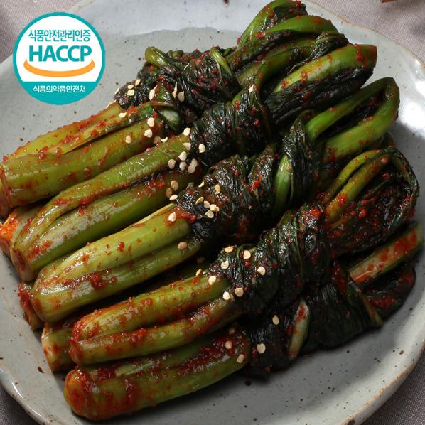 중문푸드 국내산 재료 돌산갓김치 진짜 맛있는 전라도 갓김치 1~5kg 수제김치 남도김치 물김치 여름김치 돌산갓, 1개, 1kg