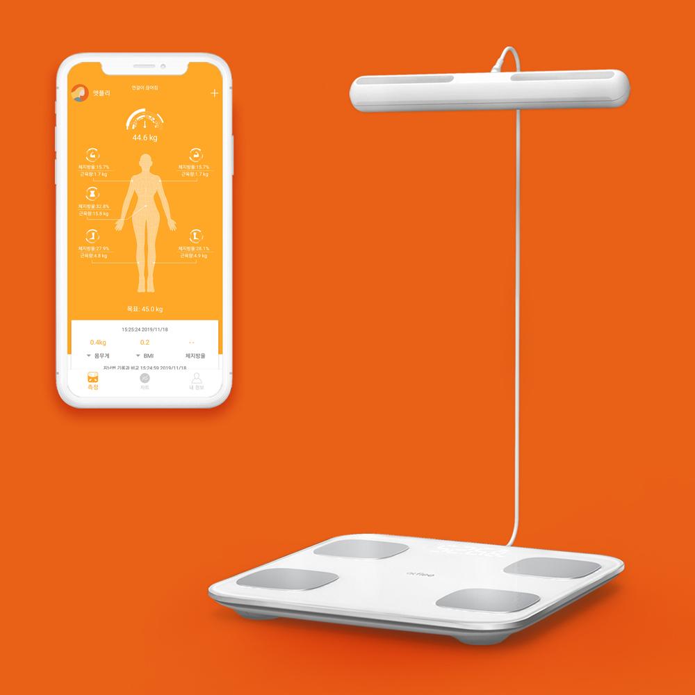 앳플리 아이그립 핸드바 스마트 체중계 전신, 단일상품, 단일상품