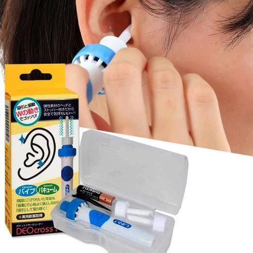 [구매만족] 진동 흡입 귀클리너 귀지 청소기 귀이개, 2개