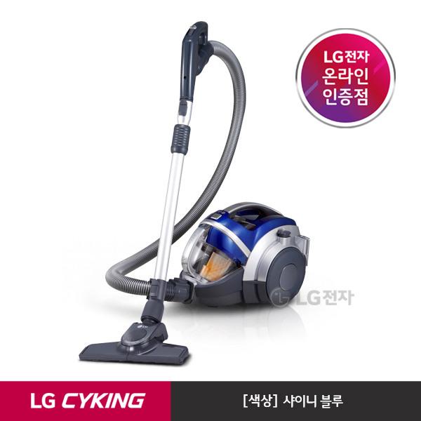 [LG전자] [택배발송] 슈퍼 싸이킹 III 주니어 청소기 K73BGY (샤이니블루/트윈싸, 상세 설명 참조