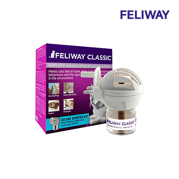 FELIWAY 펠리웨이 고양이 심리안정 디퓨저 클래식 스트레스완화 220V콘센트, 1개