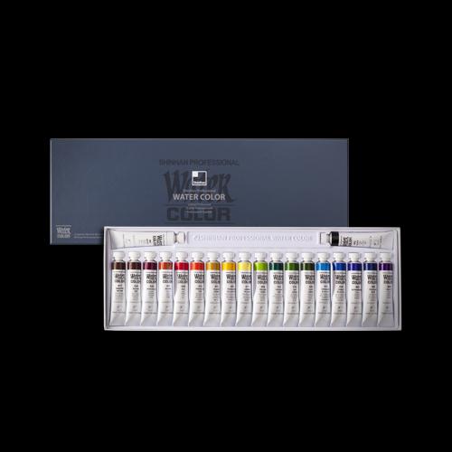 신한화구 전문가용신한수채물감12ml20색 수채화물감