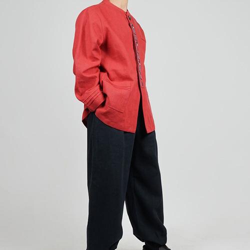 단아한의 남성 남자 생활한복 계량한복 개량한복 퓨전한복 춘추 봄가을 고급 긴팔 저고리 상의 팬츠 4가지색상 상현세트